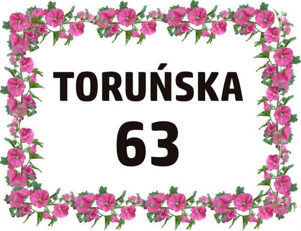 tabliczka z adresem