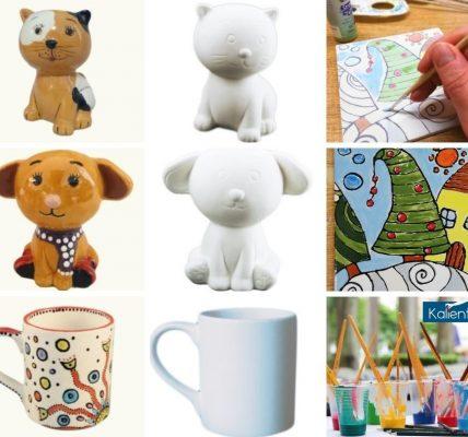 zajęcia malowania ceramiki